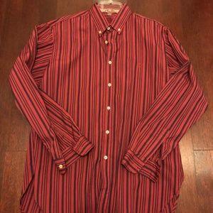 NWT VNTG Valentino Jeans LS button down shirt SZ L